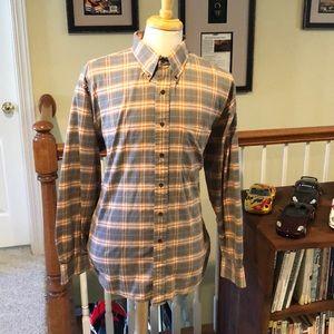 Burberry men's dress shirt size XL
